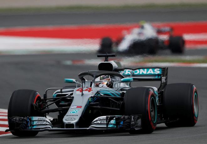 F1 - Espana 2018 - Carrera - Lewis Hamilton - Mercedes GP