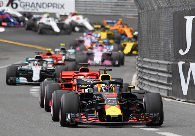 F1 - Monaco 2018 - Carrera - Daniel Ricciardo - RedBull