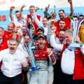 Formula E - Berlin - Alemania 2018 - Daniel Abt y equipo en el Podio
