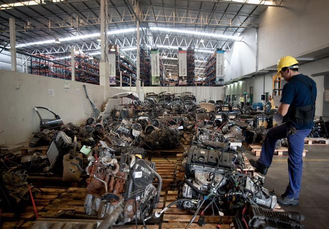 Gran subasta de motores de CESVI Auto desde la web de Narvaezbid
