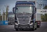 Mercedes-Benz presento los nuevos camiones Actros y Arocs 14