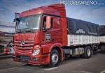 Mercedes-Benz presento los nuevos camiones Actros y Arocs 15
