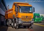 Mercedes-Benz presento los nuevos camiones Actros y Arocs 2