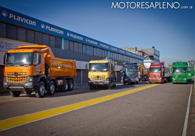 Nuevo Mercedes Actros 2018 >> Mercedes-Benz presentó al mercado local los nuevos camiones Actros y Arocs | Motores a Pleno