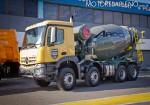 Mercedes-Benz presento los nuevos camiones Actros y Arocs 4