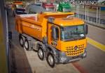 Mercedes-Benz presento los nuevos camiones Actros y Arocs 6