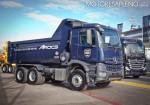 Mercedes-Benz presento los nuevos camiones Actros y Arocs 7