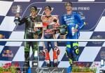MotoGP - Jerez 2018 - Johann Zarco - Marc Marquez - Andrea Iannone en el Podio