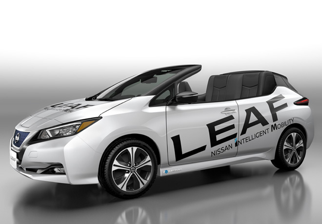 Nissan LEAF descapotable 1