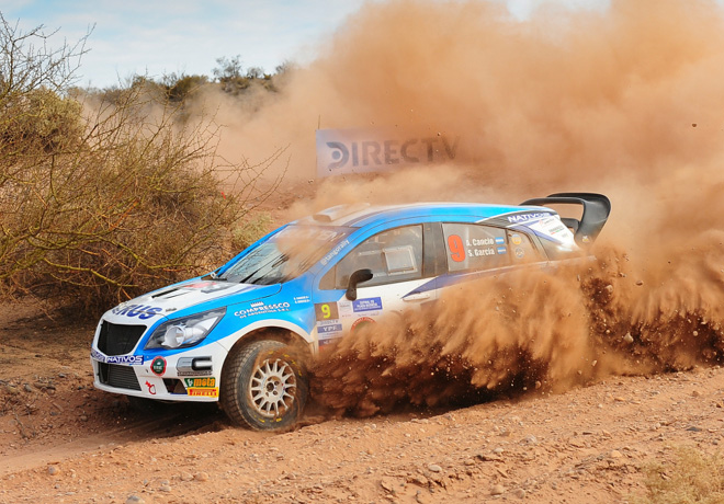 Rally Argentino - Plaza Huincul y Cutral Co 2018 - Etapa 1 - Alejandro Cancio - Chevrolet Agile MR