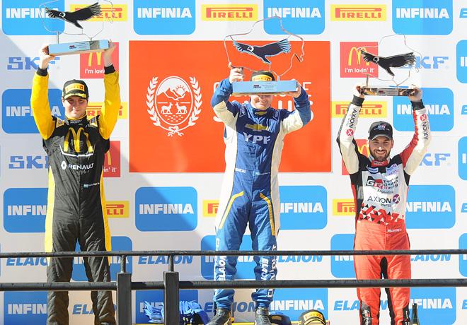 STC2000 - Potrero de los Funes 2018 - Final - Martin Moggia - Bernardo Llaver - Julian Santero en el Podio
