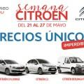 Semana Citroen - Precios Unicos - 21-27 de mayo