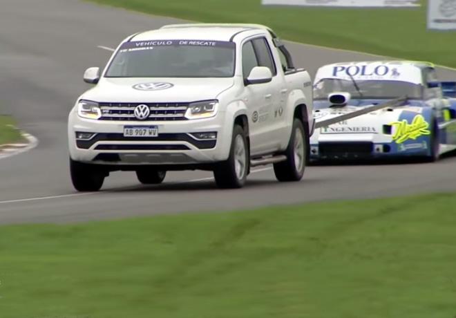 TC Pick Up - Amarok V6 sera el vehiculo de rescate de la categoria 1