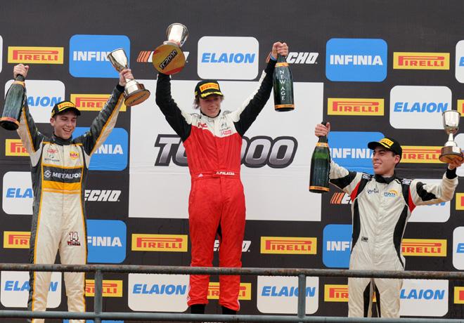 TC2000 - Concordia 2018 - Carrera Final - Martin Chialvo - Hernan Palazzo - Tomas Gagliardi Genne en el Podio