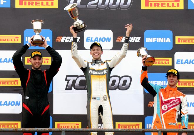 TC2000 - Concordia 2018 - Carrera Sprint - Gaston Cabrera - Santiago Mallo - Jose Manuel Sapag en el Podio