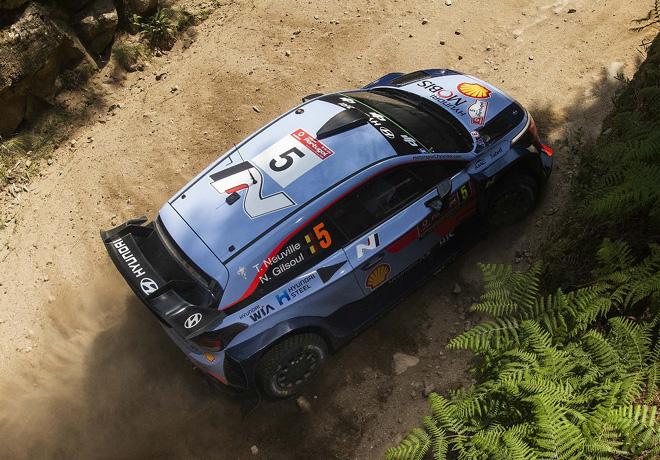 WRC - Portugal 2018 - Dia 2 - Thierry Neuville - Hyundai i20 WRC