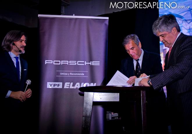 Alianza estrategica de Porsche con YPF hasta 2021