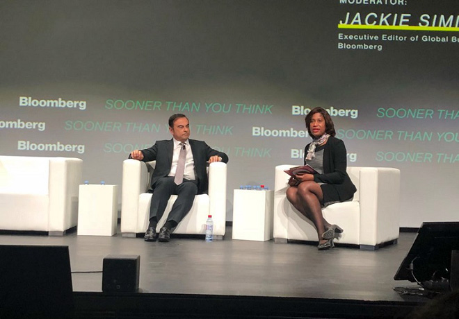 Carlos Ghosn -CEO de la Alianza Renault-Nissan-Mitsubishi- habla sobre el futuro de la movilidad y las nuevas soluciones tecnologicas