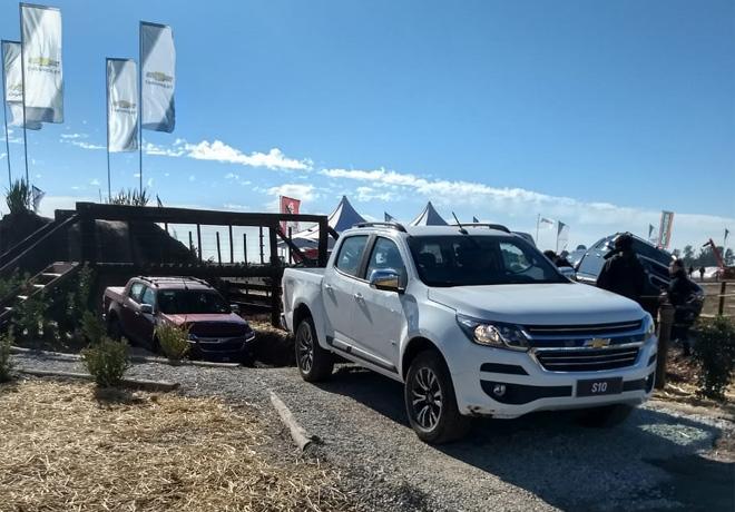 Chevrolet S10 MY19 en Agroactiva 2018
