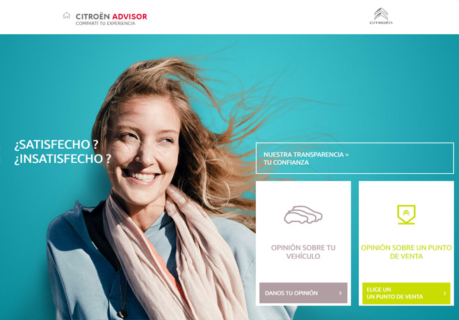Citroën Advisor: Transparencia como signo de confianza.