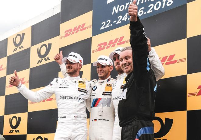 DTM en Norisring – Carrera 2: Segunda victoria de la temporada de Wittmann.