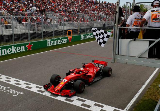 F1 - Canada 2018 - Carrera - Sebastian Vettel - Ferrari