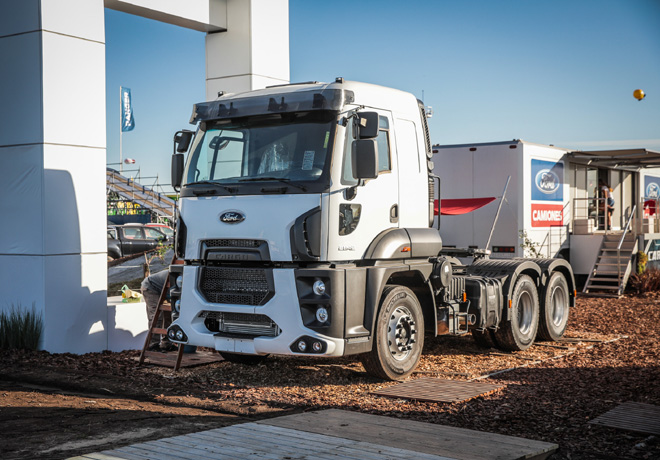 Ford Camiones en Agroactiva 2018