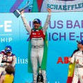 Formula E - Zurich - Suiza 2018 - Sam Bird - Lucas di Grassi - Jerome dAmbrosio en el Podio