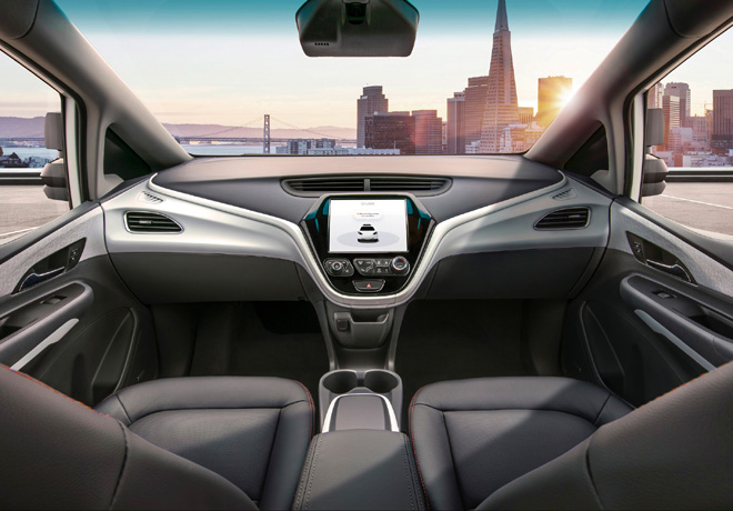 GM Cruise - interior
