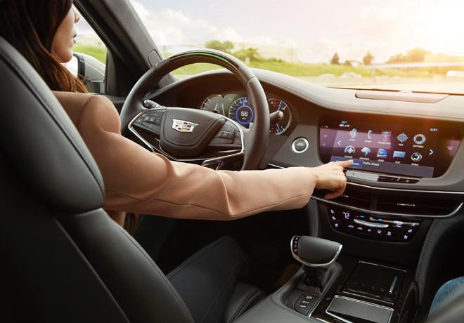 GM - SuperCruise permitira el manejo semi autonomo de los vehiculos de la marca