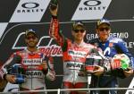 MotoGP - Mugello 2018 - Andrea Dovizioso - Jorge Lorenzo - Valentino Rossi en el Podio