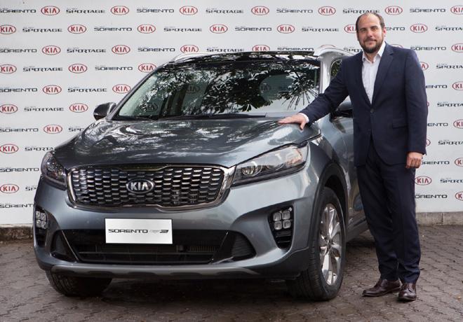 Pablo Garcia Leyenda - Gerente Comercial de Marketing y Producto de Kia Argentina