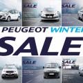 Peugeot Winter Sale 2018