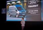 Santiago Labella - Gerente de Comunicaciones de Ford - en la presentacion Nueva Transit