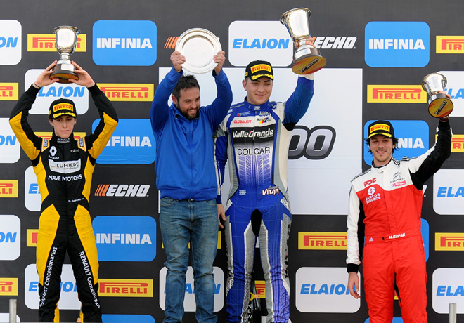TC2000 - Rio Cuarto 2018 - Carrera Sprint - Nicolas Dapero - Jorge Vitar - Jose Manuel Sapag en el Podio