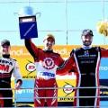 Top Race - Alta Gracia - Cordoba 2018 - Franco Girolami - Nestor Girolami - Agustin Canapino en el Podio