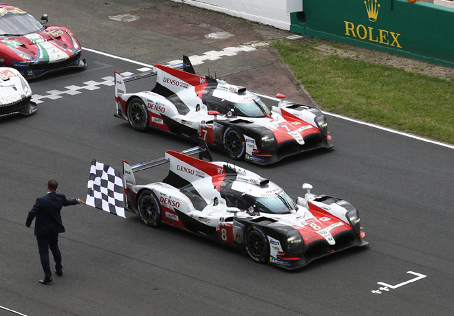WEC - 24 hs de Le Mans 2018 - 1-2 de Toyota Gazoo Racing