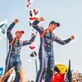 WRC - Italia 2018 - Final - Thierry Neuville en el Podio