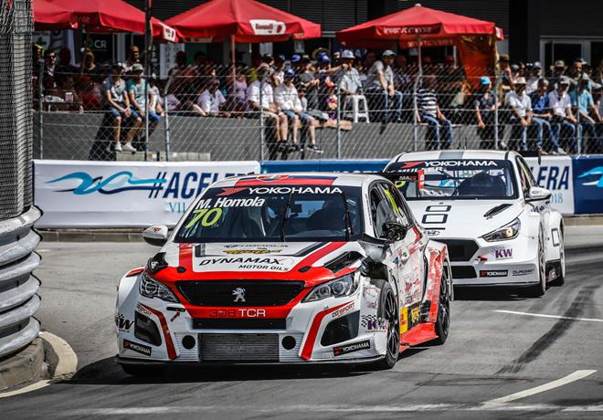 WTCR en Vila Real – Carrera 2: Mato Homola obtiene su primera victoria.