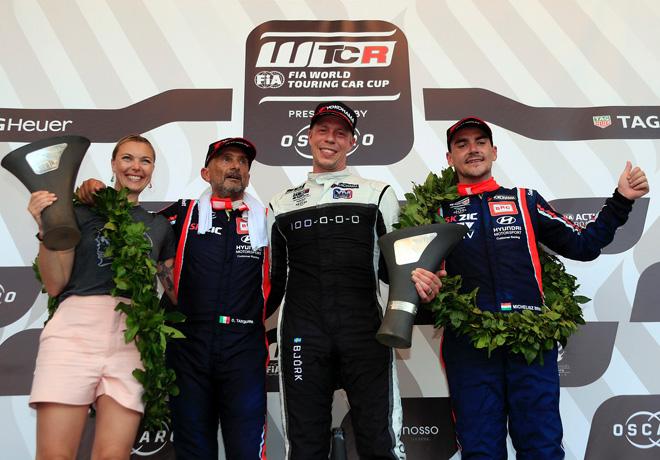 WTCR en Vila Real – Carrera 3: Bjork arrasa ganando en Portugal.