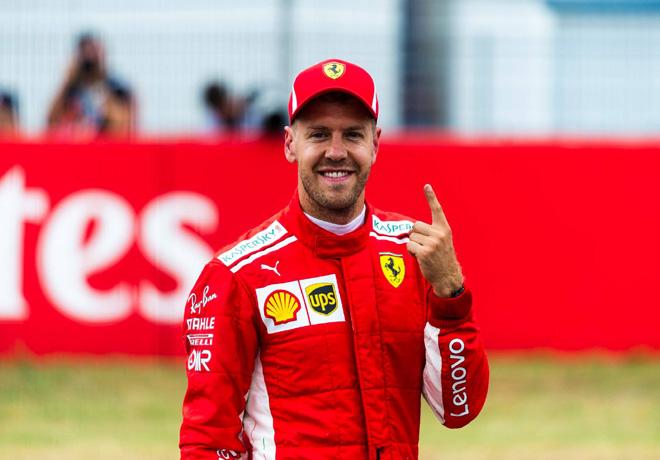F1 - Alemania 2018 - Clasificacion - Sebastian Vettel - Ferrari