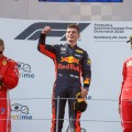 F1 - Austria 2018 - Carrera - Kimi Raikkoinen - Max Verstappen - Sebastian Vettel en el Podio