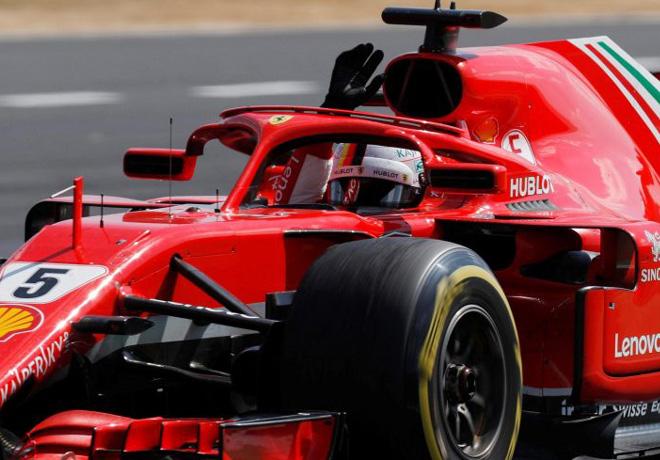 F1 - Gran Bretana 2018 - Carrera - Sebastian Vettel - Ferrari