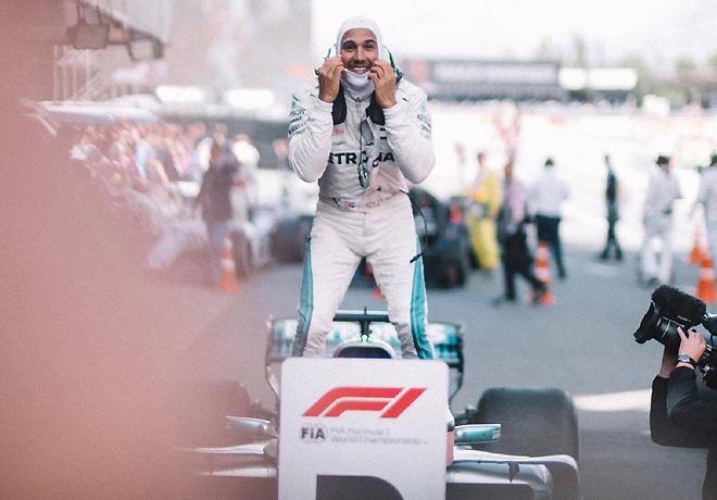 F1 - Gran Bretana 2018 - Clasificacion - Lewis Hamilton - Mercedes GP