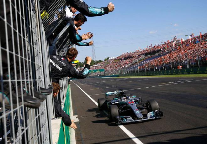 F1 - Hungria 2018 - Carrera - Lewis Hamilton - Mercedes GP