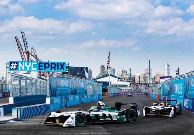 Formula E - Nueva York 2018 - Carrera 1 - Lucas di Grassi - Audi Sport ABT Schaeffler