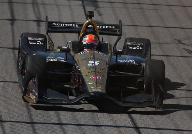 IndyCar - Iowa 2018 - Carrera - James Hinchcliffe