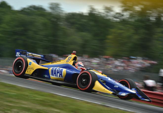 IndyCar - Mid-Ohio 2018 - Carrera - Alexander Rossi