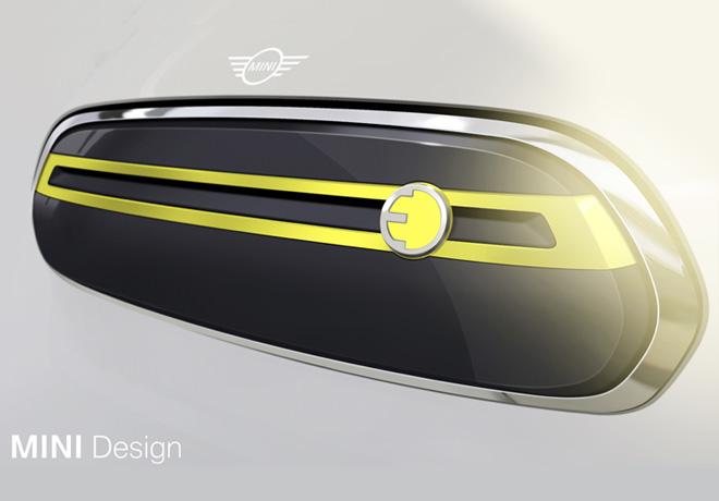 MINI muestra exclusivos bocetos de diseno del primer vehiculo completamente electrico que sera presentado en 2019 1