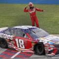 NASCAR - Chicagoland 2018 - Kyle Busch en el Victory Lane